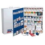 200+ Person / Industrial First Aid Station with pocket liner / Wall Mountable