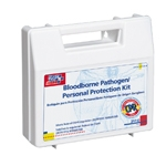 25 Piece, Bloodborne Pathogen - Personal Protection Kit / with Microshield®