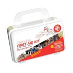 Genuine First Aid Kit 101-piece Hard Case