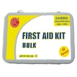 Metal ANSI First Aid Kit, 10 Persons