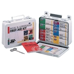 Pool & Lifeguard First Aid Kit - 16 Unit Metal Case