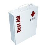 Red Cross-Food Industry First Aid Cabinet - Metal