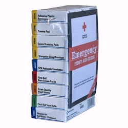 Refill brick for 10 unit unitized first aid kits: 238-AN & 240-AN
