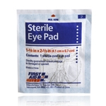 Sterile eye pad, 2 per ziplock bag
